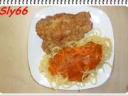Fleischgerichte:Piccata Milanese mit Tomatensoße - Rezept