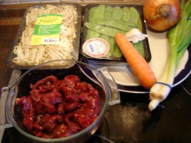 Chinesisches Rindfleisch - Rezept - Bild Nr. 2