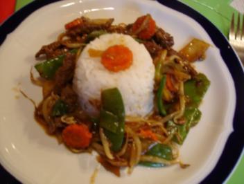 Chinesisches Rindfleisch - Rezept