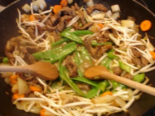 Chinesisches Rindfleisch - Rezept - Bild Nr. 7