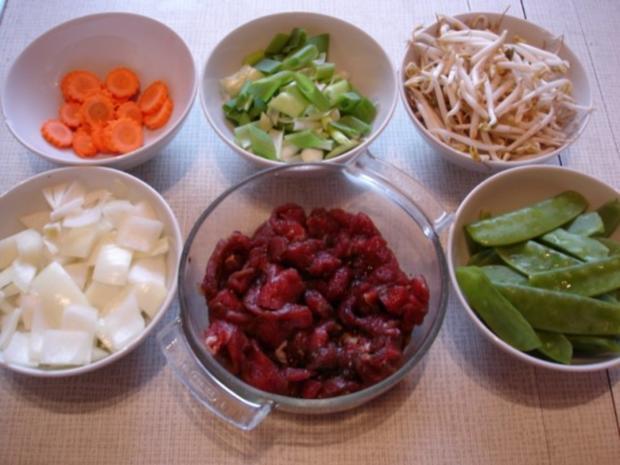 Chinesisches Rindfleisch - Rezept - Bild Nr. 3
