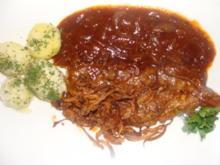 Fleisch : Zwiebelrostbraten - Rezept