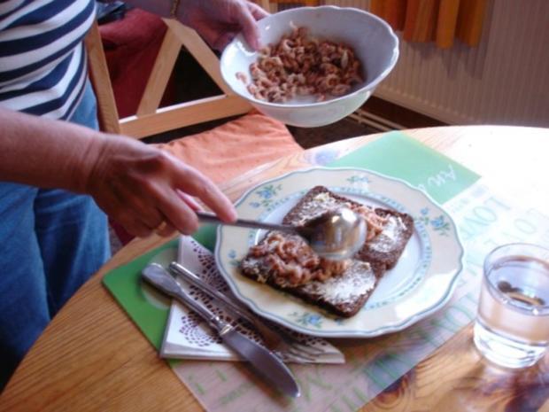 Krabbenbrot mit Spiegelei - Rezept - Bild Nr. 9