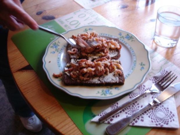 Krabbenbrot mit Spiegelei - Rezept - Bild Nr. 10