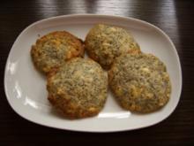 Keks & Co:  Weiße Schoko-Mohn-Cookies - Rezept