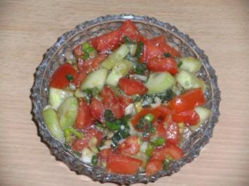 Salat: Gemischter Salat, Asia Art - Rezept