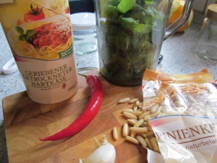 Pesto mit Pfiff - Rezept