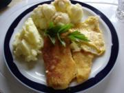 Pangasius Fischfilet mit Blumenkohl und Kartoffelbrei - Rezept