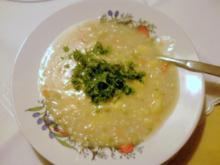 Graupensuppe vegetarisch - Rezept