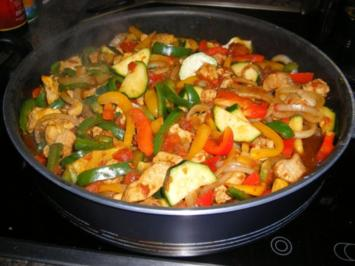 Putenbrust-Gemüse-Pfanne - Rezept