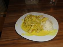 Orangen Curry mit Ingwer Basmati - Rezept