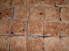 Weihnachtsgebäck : Zimtwaffeln mit Blockschokolade ! - Rezept
