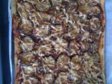 Leo´s Zucchini-Knoblauch-Pizza - Rezept
