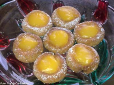Weihnachten: Zitronencreme-Taler - Rezept