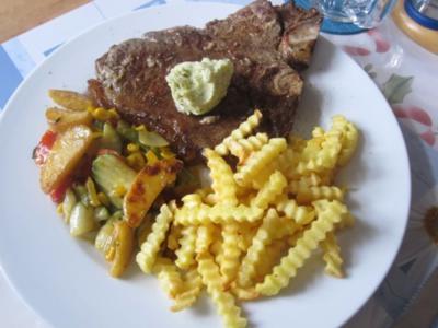 """T-Bone-Steak """"mal auf die Schnelle"""" - aber ausgezeichnet - Rezept"""