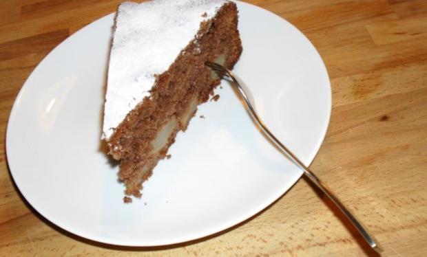 Birne - Helene - Kuchen - Rezept - Bild Nr. 2