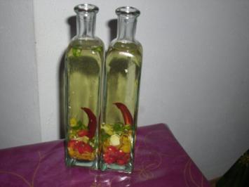 Zitronen-Chilli-Ingwer-Öl - Rezept