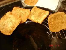 Cracker mit Sesam - Rezept