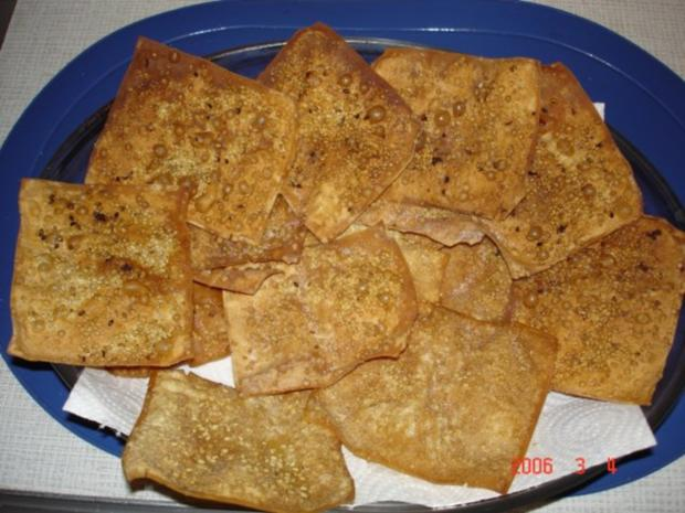 Cracker mit Sesam - Rezept - Bild Nr. 3