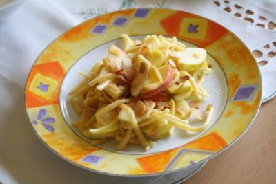 Apfel-Spätzle-Pfanne - Rezept