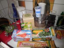 Wildlachs auf Spinat im Blätterteig - Rezept
