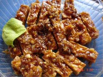 Tofusticks in süß-saurer Sauce - Rezept