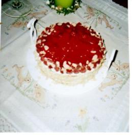 Himbeer-Sahne-Torte - Rezept