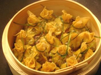 Vegetarische Wan-Tan - Rezept