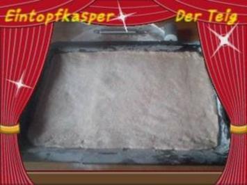 Pizzateig a`la Jörg  ( für ein Backblech ) - Rezept