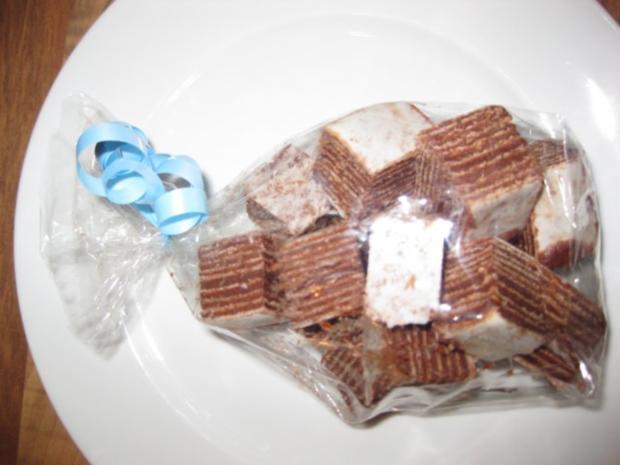 Zebra-Konfekt (auch Kalter Hund / Kalte Schnauze genannt) - Rezept