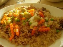 Thiebu Yap (Gebratenner Reis mit Fleisch) - Rezept