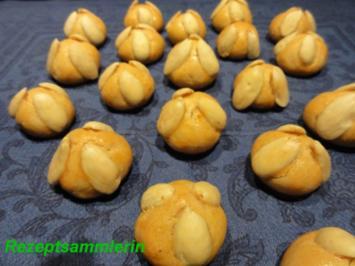Kekse:   BETHMÄNNCHEN - Rezept