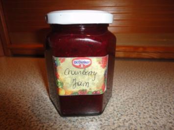 Cranberrie-Portwein Jam - Rezept