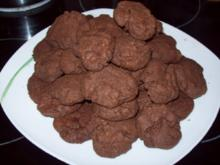 Double Chocolate-Cookies - Rezept