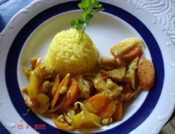 Hähnchen-Curry - Rezept