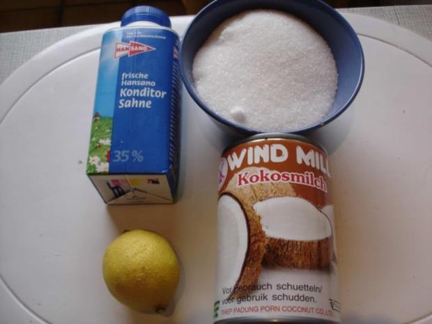 Kokos-Eis - Rezept - Bild Nr. 2