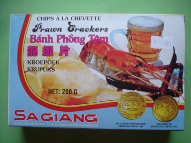 Krabbenbrot / Kroepuk / Shrimp Chips - Rezept - Bild Nr. 2