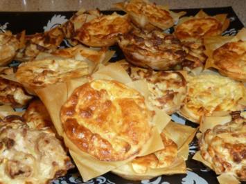 Mini-Filoteig-Pies - Rezept
