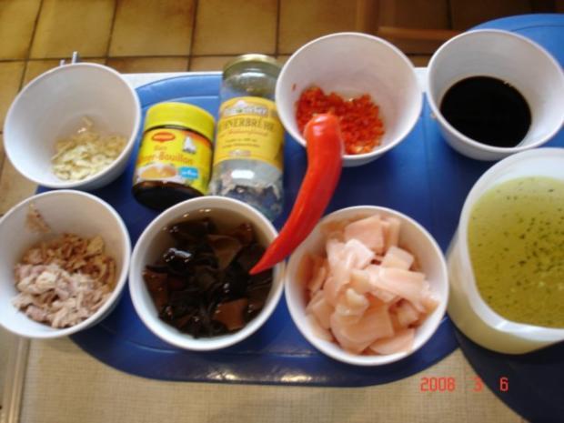 Süß-saure-scharfe Suppe - Rezept - Bild Nr. 2