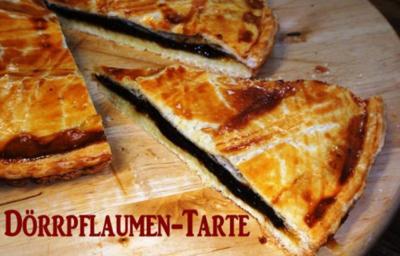 Dörrpflaumen-Tarte-Marcos - Rezept