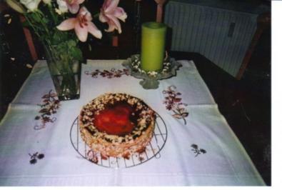 Fruchtiger Apfel-Käse-Kuchen - Rezept