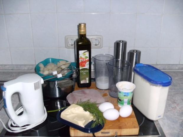 Schinken-Pfannkuchen mit Spargeln - Rezept - Bild Nr. 2