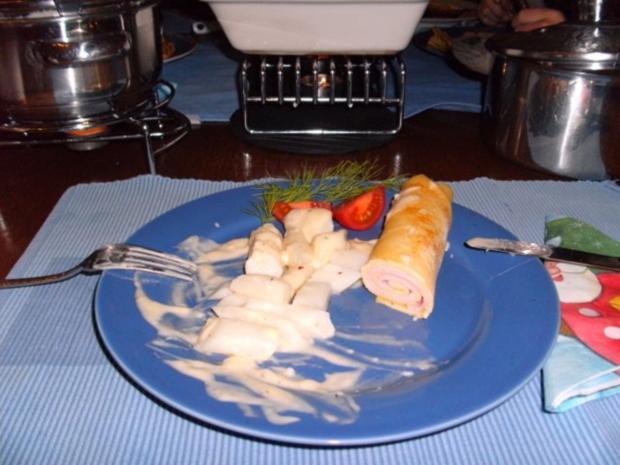 Schinken-Pfannkuchen mit Spargeln - Rezept - Bild Nr. 6