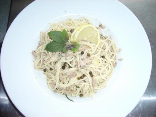 Thunfischsoße mit Spagetti - Rezept - Bild Nr. 2