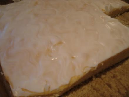 Zitronen-Buttermilch-Kuchen vom Blech - Rezept