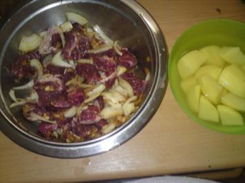 Touffee (senegalesischer Fleischtopf) - Rezept