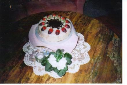 "Erdbeer-Marzipan-Torte ""Maiglück"" - Rezept"