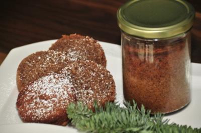 Adventskalender 24. Tag: Rotwein-Nuss-Kuchen im Glas - Rezept