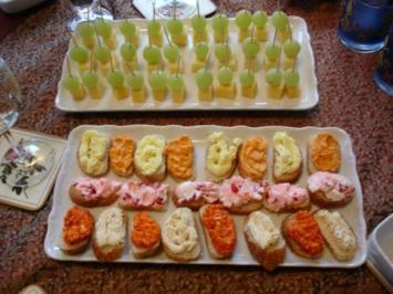 Fingerfood Partyhappen Vorschlag/Idee - Rezept
