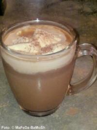 Heiße Minz-Schokolade - Rezept